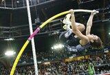 A.Duplantis Prancūzijoje pasikėsino į dar vieną pasaulio rekordą
