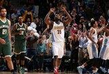 NBA dienos epizodų dešimtuke – pergalingi metimai