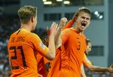 """""""Ajax"""" sporto direktorius M.Overmarsas: """"M.De Ligto perėjimas jau beveik baigtas"""""""