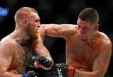 """Netikėta: """"UFC 222"""" turnyrą gelbės N.Diazas?"""
