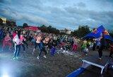 Naktiniame Kauno bėgime dalyvavo beveik tūkstantis bėgikų