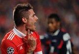 """Agentas: """"J.Garcia šią vasarą nepaliks """"Benfica"""" ekipos"""""""