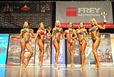 """NAC """"Mr & Ms. Universe"""" kultūrizmo ir fitneso varžybose Hamburge R.Slavinskaitė užėmė antrą vietą"""