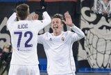 """""""Fiorentina"""" patiesė """"Udinese"""" klubą, """"Milan"""" neįveikė lygos naujokų"""