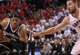 """""""Nets"""" atsisakė į """"Clippers"""" gretas iškeisti P.Pierce'ą"""