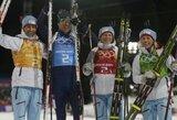 Biatlono mišrių komandų estafetę Sočyje laimėjo norvegai, O.E.Bjoerndalenas perrašė istoriją