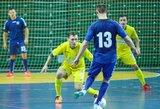 """""""Futsal A lygos"""" penktasis turas: dramos ir atomazgos"""