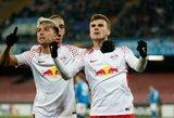 """Europos lyga: """"Celtic"""" skaudžiai krito Rusijoje, """"Napoli"""" Leipcige pritrūko vieno įvarčio"""