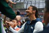 """Pamatykite: Z.Ibrahimovičius asmeniškai skambino """"Galaxy"""" sezono abonementų savininkams"""