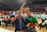 Europos muaythai čempionate – M.Narausko ir G.Morkūnaitės auksas