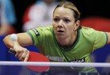 Į Europos stalo teniso čempionato atkrintamąsias varžybas pateko tik R.Paškauskienė (visi lietuvių rezultatai)