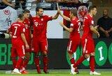 """Vokietijos Supertaurės finale – R.Lewandowskio """"hat-trickas"""" ir triuškinanti """"Bayern"""" pergalė"""