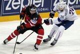 Pasaulio ledo ritulio čempionate rusai sutriuškino baltarusius, kanadiečiai turėjo vargo su prancūzais
