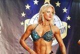 Kultūrizmo ir fitneso varžybose Čekijoje – E.Čingienės triumfas