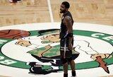 K.Irvingas grįžęs į Bostoną žaidė nesulaikomai