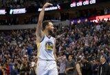 NBA čempionus Dalase išgelbėjo S.Curry pergalingas tritaškis