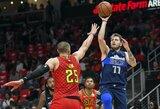 """L.Dončičius Atlantoje žaidė solidžiai, bet """"Mavericks"""" išbarstė 26 taškų persvarą"""