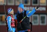 Rusijos biatlono treneris džiaugiasi gera sezono pradžia ir pasiruošimu Sočio žaidynėms