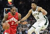 "Trečiąkart iš eilės laimėjusi ""Raptors"" – per žingsnį nuo NBA finalo"