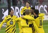 """""""Borussia"""" išvykoje įveikė """"RB Leipzig"""" futbolininkus"""