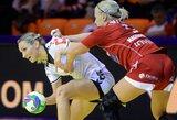 Rusijos moterų rankinio rinktinė su V.Žilinskaite pasaulio čempionate įveikė vienas pagrindinių varžovių (+ kiti rezultatai)