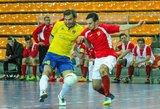 """Šeštasis """"Futsal A lygos"""" turas: grumtynės dėl taškų ir aukštesnių pozicijų tęsiasi"""