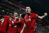 """D.Lovrenas svajoja apie """"Liverpool"""" sezoną be pralaimėjimų: """"Arsenal"""" tai padarė, galime ir mes"""""""