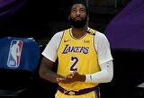 """A.Drummondo debiutą """"Lakers"""" klube užbaigė trauma"""