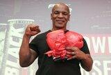 """M.Tysonas apie kovą su C.McGregoru: """"Išspardyčiau jo užpakalį"""""""