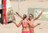 Lietuvos paplūdimio tinklininkai sėkmingai pradėjo turnyrus Čekijoje ir Turkijoje