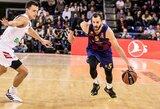 """""""Barcelona"""" po Š.Jasikevičiaus atvykimo paliko dar vienas krepšininkas"""
