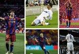 TOP-25: vertingiausi pasaulio futbolininkai 2010 metais
