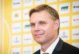 """E.Jankauskas prieš mačą su Slovėnija: """"Turime puikius šansus sužaisti geras rungtynes ir pasiekti gerą rezultatą"""""""