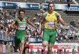 Sprinteris R.Sakalauskas Maskvoje atbėgo 3-ias
