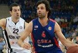 CSKA – per žingsnį nuo Vieningosios lygos čempionės titulo
