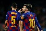 L.Messi praleis paskutines Čempionų lygos grupių etapo rungtynes