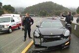 Paviešintas S.Curry avarijos vaizdo įrašas