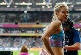 Smūgis Rusijai: į Dohą atvykusi pasaulio vicečempionė atsisakė startuoti