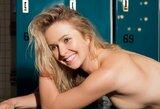 Pamatykite: viena geriausių pasaulio tenisininkių – intymioje fotosesijoje vyrų žurnalui