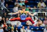 Gimnastą R.Tvorogalą Europos žaidynėse ištiko nesėkmė lemiamoje rungtyje