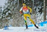 V.Stroliai nedaug trūko iki vietos pasaulio biatlono taurės persekiojimo lenktynėse