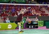 Badmintonininkui K.Navickui atiteko Europos žaidynių bronza (komentaras)