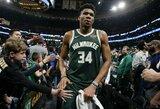 G.Antetokounmpo pripažintas geriausiu NBA žaidėju