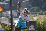 """Triuškinantį """"kirtį"""" T.Dumoulinui sudavęs F.Aru praktiškai užsitikrino """"Vuelta a Espana"""" čempiono titulą"""