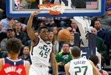 NBA paskelbė gražiausius dėjimus apšilimo metu