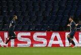"""""""Borussia"""" žygis baigtas: PSG išsikapstė į kitą Čempionų lygos etapą"""
