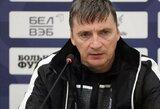 """Baltarusijos rinktinės treneris: """"Lietuvos rinktinė nėra stipri individualiai, ji yra stipri kaip komanda"""""""
