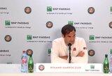 """Apie ateitį užsiminęs R.Federeris stebėjosi """"Roland Garros"""" organizatorių sprendimu"""