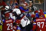 Amerikiečiai emocingose rungtynėse įveikė rusus ir tapo A grupės nugalėtojais!