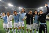 """M.Stankevičiaus """"Lazio"""" pateko į Italijos taurės finalą"""